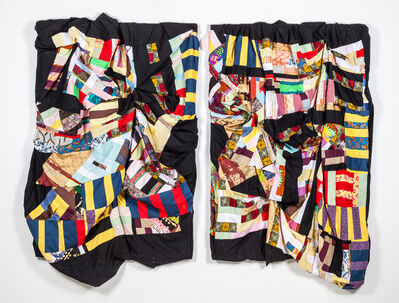 Basil Kincaid, 'Quilt: Brother Code: Lion Hearts Cut From the Same Cloth', 2017