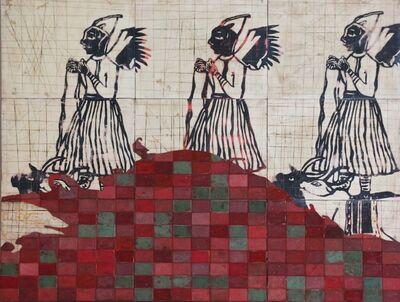 Mauricio Cervantes, 'Abluciones y Bañistas 43', 2012