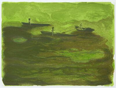 May Stevens, 'Three Boats', 2000