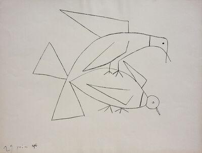 Pablo Picasso, 'Les Deux Tourterelles II (B. 406)', 1946