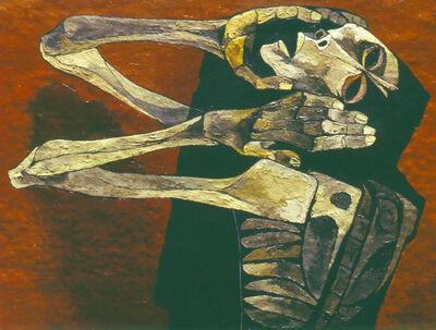 Oswaldo Guayasamín, 'La Angustia III', 1994