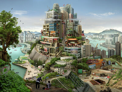 Emily Allchurch, 'Babel Hong Kong', 2018