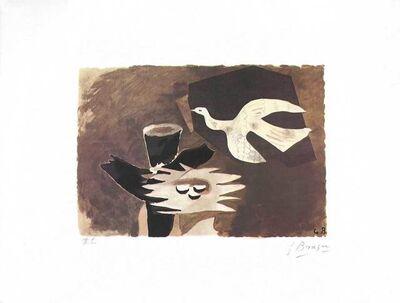 Georges Braque, 'L'oiseau et son nid II', 1955