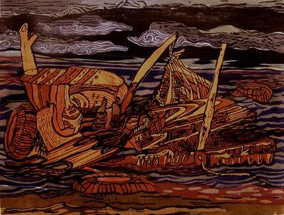 Ke Francis, 'Abandoned Raft', 2016
