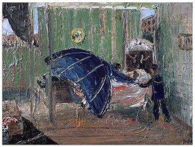 John Bradford, 'Lincoln on His Deathbed', 2018