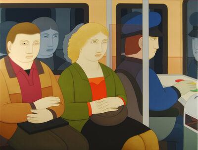 Andrew Stevovich, 'Subway Riders', 2014