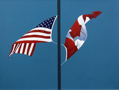 Charles Pachter, 'Side by Side', 2001