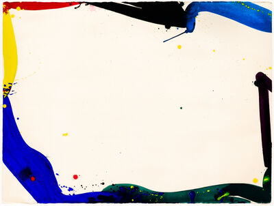 Sam Francis, 'Untitled (Bright Ring Drawing)', 1964