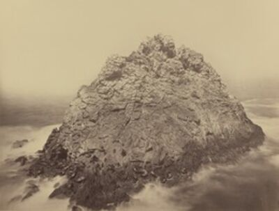 Carleton E. Watkins, 'Sugar Loaf Island, Farallons', 1868/1869