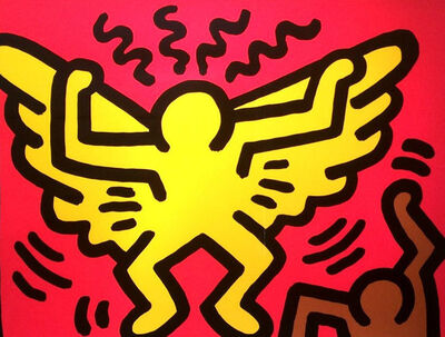Keith Haring, 'Pop Shop IV', 1989