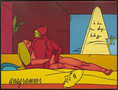 Valerio Adami, 'Anagrammi', 1986