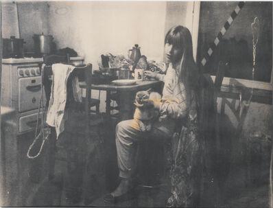 Annelies Strba, 'Linda mit Ashi', 1983