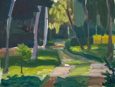 John Goodrich, 'Pathway, Great Wass Island', 2019