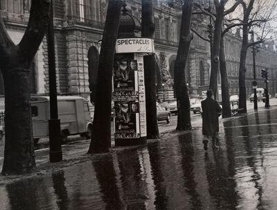 Todd Webb, 'Quai du Louvre, Paris', 1975