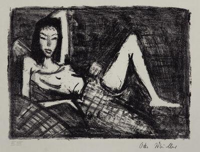 Otto Mueller, 'Mädchen auf dem Kanapee', 1921-1922