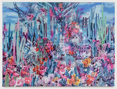 Rosson Crow, 'Big Bend Border Bloom', 2017