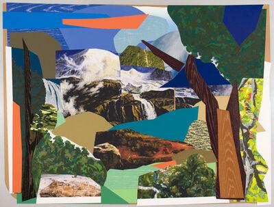 Mickalene Thomas, 'Landscape Majestic', 2011