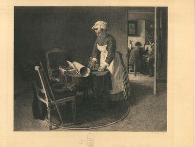 Charles-Jean-Louis Courtry, 'Chez François Bouvin', 1891
