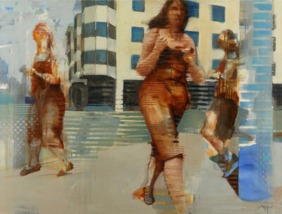 Michael Azgour, 'Movement in the Mission II: Walker', 2013