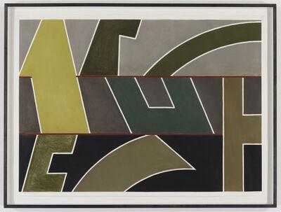 David Tremlett, 'Wall of Columns #1', 2003