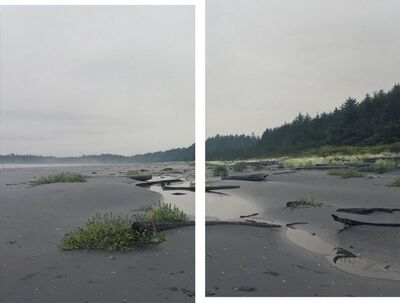 Nathan Birch, 'Beach in October ', 2013