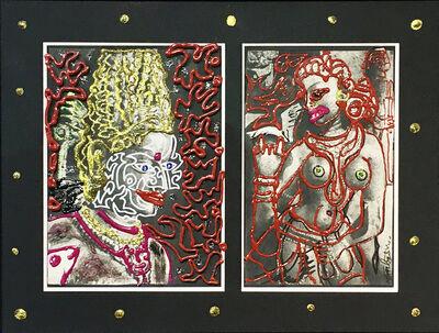 Robert Combas, 'Divinités Thailandaises', 2000