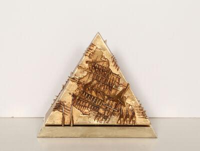 Arnaldo Pomodoro, 'Triangolo', ca. 1982