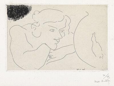 Henri Matisse, 'Jeune Femme observant les évolutions d'un poisson', 1929