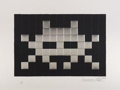 Invader, 'Invasion (Silver)', 2009