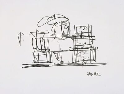 Frank Gehry, 'Study for Frank Gehry House', 2004