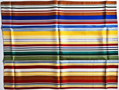 Kenneth Noland, 'Limited Edition Silk Scarf for the Whitney Museum (from the estate of Aviva and Jacob Bal Teshuva)', 1999