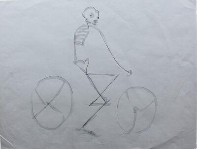 Francisco Toledo, 'Muerte en bicicleta ', 1990