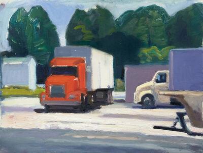 John Goodrich, 'Trucks, Beals Island', 2018