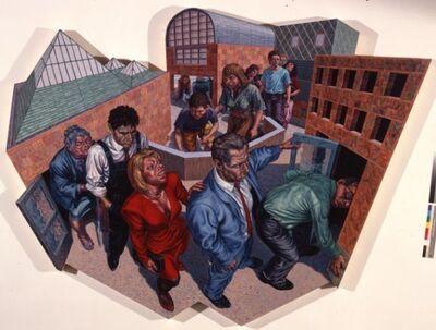 F. Scott Hess, 'Procession', 1988