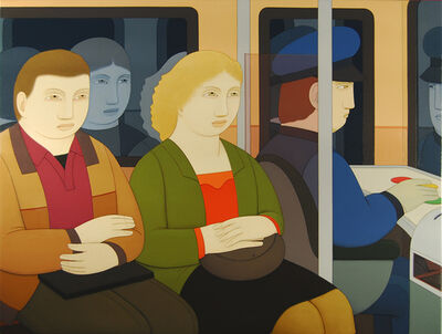 Andrew Stevovich, 'Subway Riders', 2014