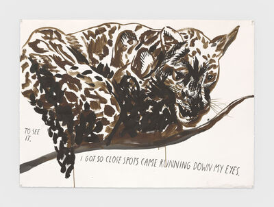 Raymond Pettibon, 'No Title (To see it. ...)', 2019