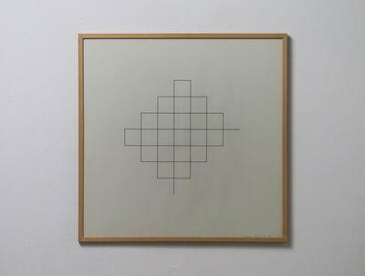 Norman Dilworth, 'single line', 1974