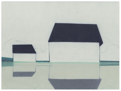 Suzanne Caporael, '696 (Glimpse, Valley Farm Rd.)', 2014