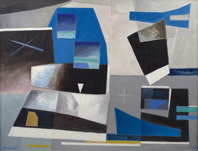 Werner Drewes, 'Solid Against Loose Forms', 1983