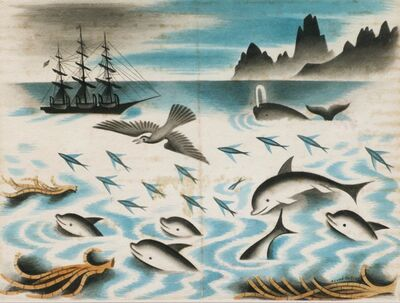 Miguel Covarrubias, 'Ilustration for typee by Herman Melville', 1935
