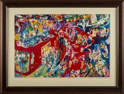 LeRoy Neiman, 'Bar at 21', 1974