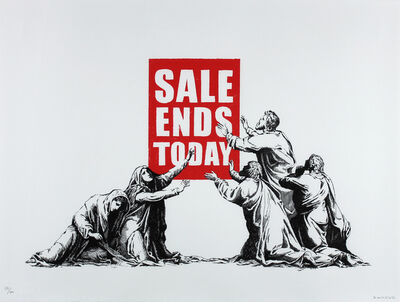 Banksy, 'Sales Ends', 2017