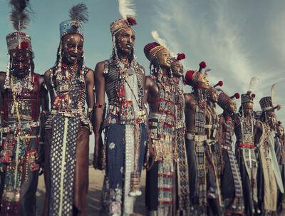 Jimmy Nelson, 'XXVIII 1 Wodaabe, Gerewol, Chad', 2016