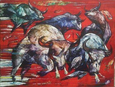 Tjokorda Bagus Wiratmaja, 'Bull Fight'