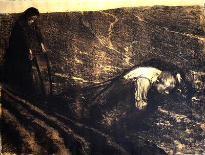 Käthe Kollwitz, 'Plough Puller and Wife, from: Peasants' War | Pflugzieher und Weib, auf: Bauernkrieg', 1907