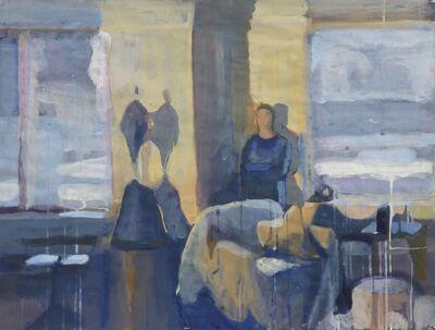 Viviane Silvera, 'Against the Wall (blue & yellow interior)', 2014