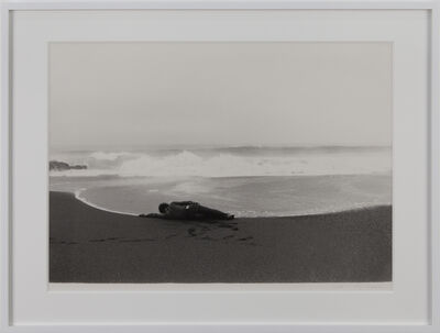 Koji Enokura, 'Symptom—Sea-Body (P.W. - No. 40)', 1972