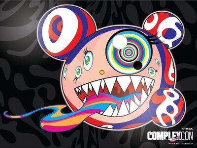 Takashi Murakami, 'Complexcon poster print', 2016