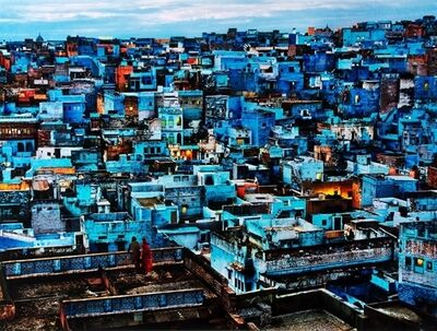Steve McCurry, 'The Blue City, Rajasthan, India', 2010