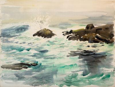 Edward Christiana, 'Breaking Surf', 1974